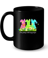 Im Going With My Peeps Ceramic Mug Easter For Boys Girls Kids - $13.99+