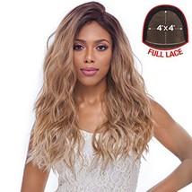 Harlem125 Synthetic Hair Lace Front Wig 4X4 Swiss Silk Base FLS11 2
