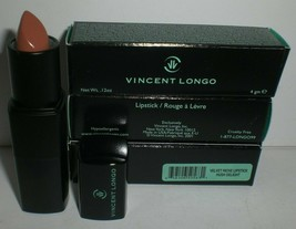 Vincent Longo Velvet Riche Lipstick Hush Delight Brown 50563 Creamy Lot of 3 New - $18.65