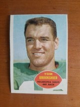1960 Topps TOM BROOKSHIER RC ROOKIE #89 Eagles!! Rookie Card - $4.95