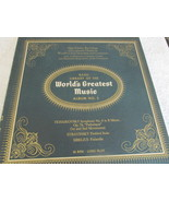 The Basic Library Of The World's Greatest Music No. 5 Record Album  - $4.99