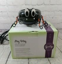 Scentsy Warmer Itsy Bitsy Black Ceramic Spider - $49.49