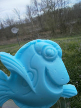 dory the fish soap, dory soap, kids soap, handmade soap, beauty, gifts, ... - $4.25