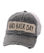 Bad Hair Day Distressed Country Vintage Mesh Ba... - $20.78