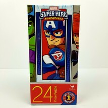 MARVEL Super Hero Adventures 24 Piece Puzzle - $7.29