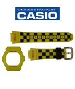 Genuine Casio Baby G  Yellow BG-5600HZ-9 Watch band & Bezel Rubber Set - $54.95