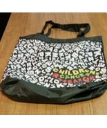 Reusable Black Nylon Shopping Bag, Grocery Bag, Market Bag, Tote - $13.00