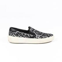 Saint Laurent Animal Print Slip On Sneakers SZ 37 - $160.00