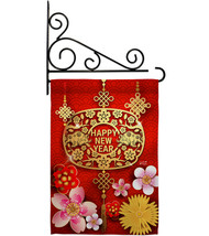 Chinese Ox Year - Impressions Decorative Metal Fansy Wall Bracket Garden... - $27.97