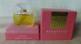 Vintage BEAUTIFUL Estee Lauder Perfume 7.4ml .25 oz Fragrance Dauber Sealed - $85.00