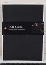 Leica D-Lux 5 Camera Catalog 2010 g25 - $14.84