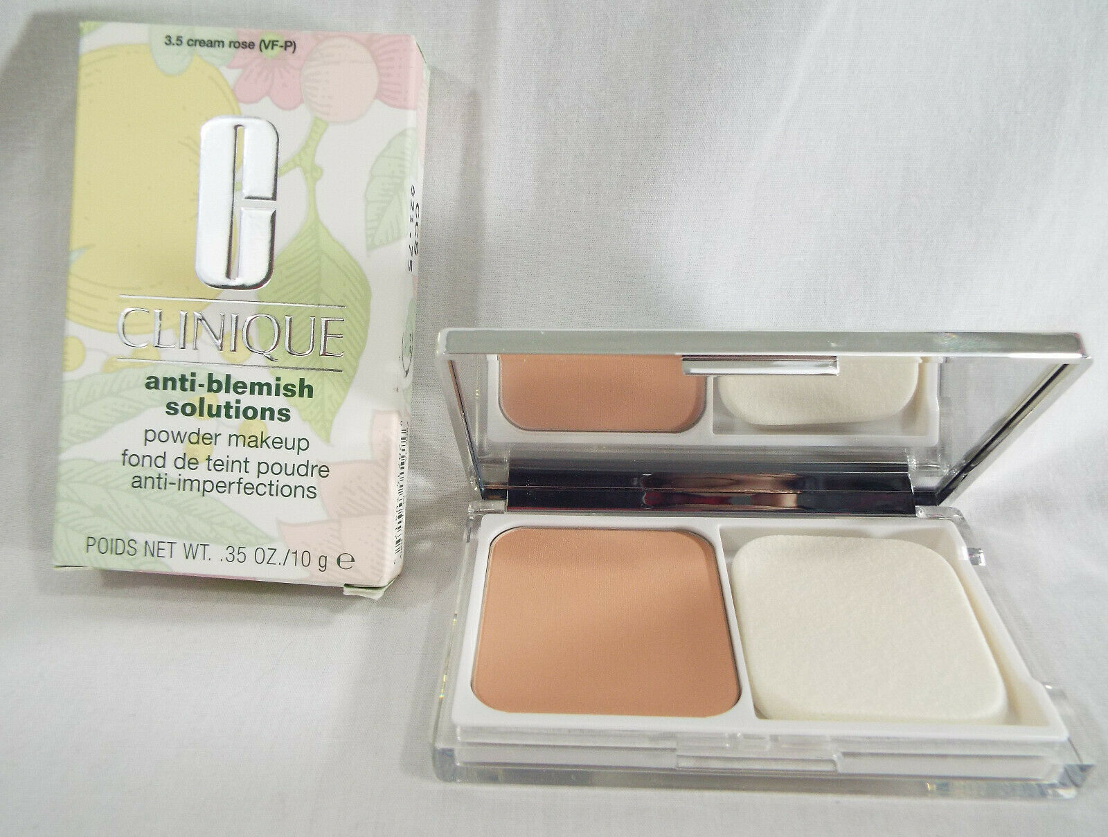 Primary image for Clinique Anti-Blemish Solutions Powder Makeup in Cream Rose 3.5 VF-P