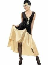 20s Gatsby Costume Fille, Noir et or, 1920's Bringe Déguisement, UK Tail... - $42.00