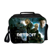 Detroit Become Human Lunch Box New Series Lunch Bag Pattern A - $17.99