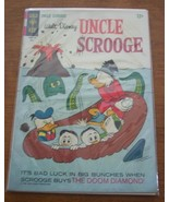 WALT DISNEY UNCLE SCROOGE #70 GOLD KEY COMIC BOOK 1966 - $34.65
