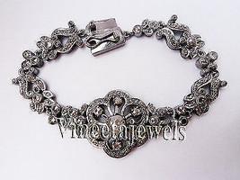 Handmade Vintage Look Silver 3.50Ct. Rose Cut Diamond Tennis Bracelet cT... - $596.62