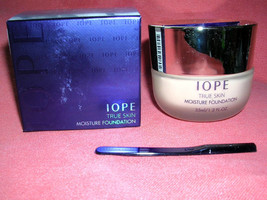 Amore Pacific IOPE True Skin Moisture Foundation BEIGE Full Sized NIB - $18.81
