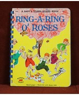 Ring-A-Ring O' Roses A Baby's Sturdi-Book 1959 Board Book Childrens - $10.10