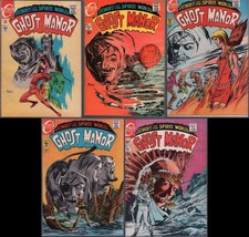Lot of 5 Ghost Manor 1st Series Comics #6, 9, 10, 11, 12 (High Grade) - $61.89