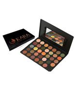 KARA 35 Color Eye Shadow Palette Highly Pigmented Skin Tone Eyeshadow #ES07 - $14.93