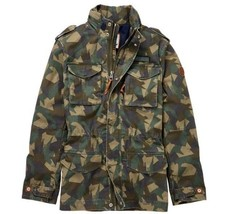 TIMBERLAND CROCKER MOUNTAIN M65 JACKET A1L2A SZ:L - $120.00