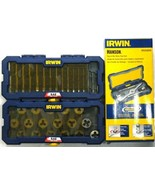 Irwin 4935062 41 Piece PTS Fractional Plug Tap and Die Set USA & China - $108.90
