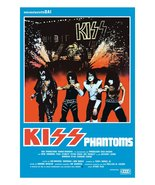 KISS Band 24 x 35 KISS MEETS THE PHANTOM 1978 Italian Reprint Poster - Rock - $50.00