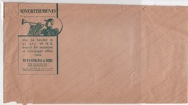 W.H. Smith & Son Advertisments For Insertion Illustrated Brown Envelope ... - $7.55