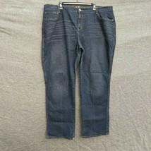 DKNY Avenue B Jeans  Straight Leg Women's Plus Size 24 L - $14.99