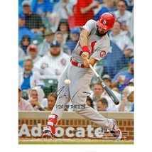 Matt Carpenter Cardinals Signed 8x10 3 HR & 2 Doubles Photo with 3HR & 2... - $267.30