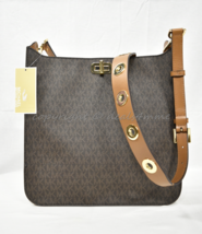 Michael Kors Sullivan Large North South Signature Messenger/Crossbody Bag. Brown - $269.00
