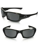 Oakley Sonnenbrille Fives Squared Poliert Schwarz Mit / Iridium Polariz - $108.89