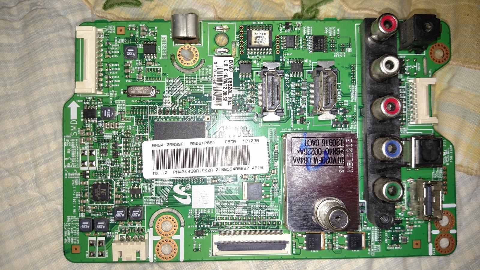 Samsung BN94-06039A (BN41-01799B, BN97-06528L) Main Board