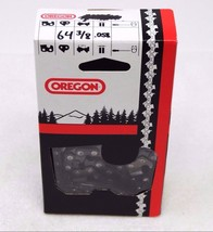 "Oregon 3/8"" Pitch .058"" Gauge 64 Link Chainsaw Chain (2r6ay8) - $14.50"