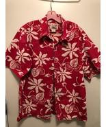 Alfred Shaheen by Reyn Spooner Red Men's sz-XL Hawaiian Shirt - $49.95