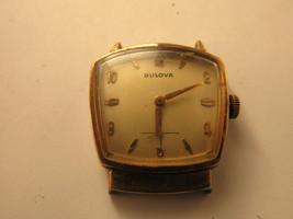 Rare 1960 hooded lug American eagle Bulova watch 11af movement runs for ... - $189.19