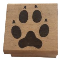 StampCraft Rubber Stamp Dog Paw Print Pet Animal Puppy Card Making Craft... - $4.99