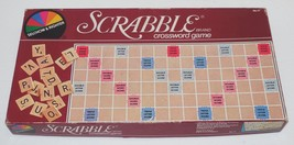 Vintage 1982 Selchow & Righter Scrabble 100% Complete Board Game - $10.63