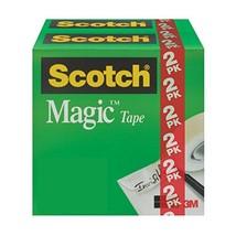 Scotch Magic Tape, Matte Finish, Photo-Safe, Engineered for Repairing, 3... - ₹538.33 INR