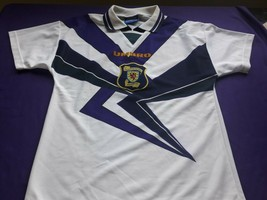 white Jersey maglia  soccer  Scotland scottish   umbro - $36.63