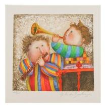 """"""" Musique pour les Yeux """" par Graciela Boulanger Lithographie sur Papier le de image 1"""