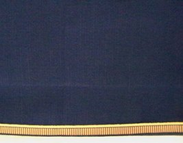 Longaberger Little Star Basket Proudly American Indigo Fabric Stand Up S... - $9.85