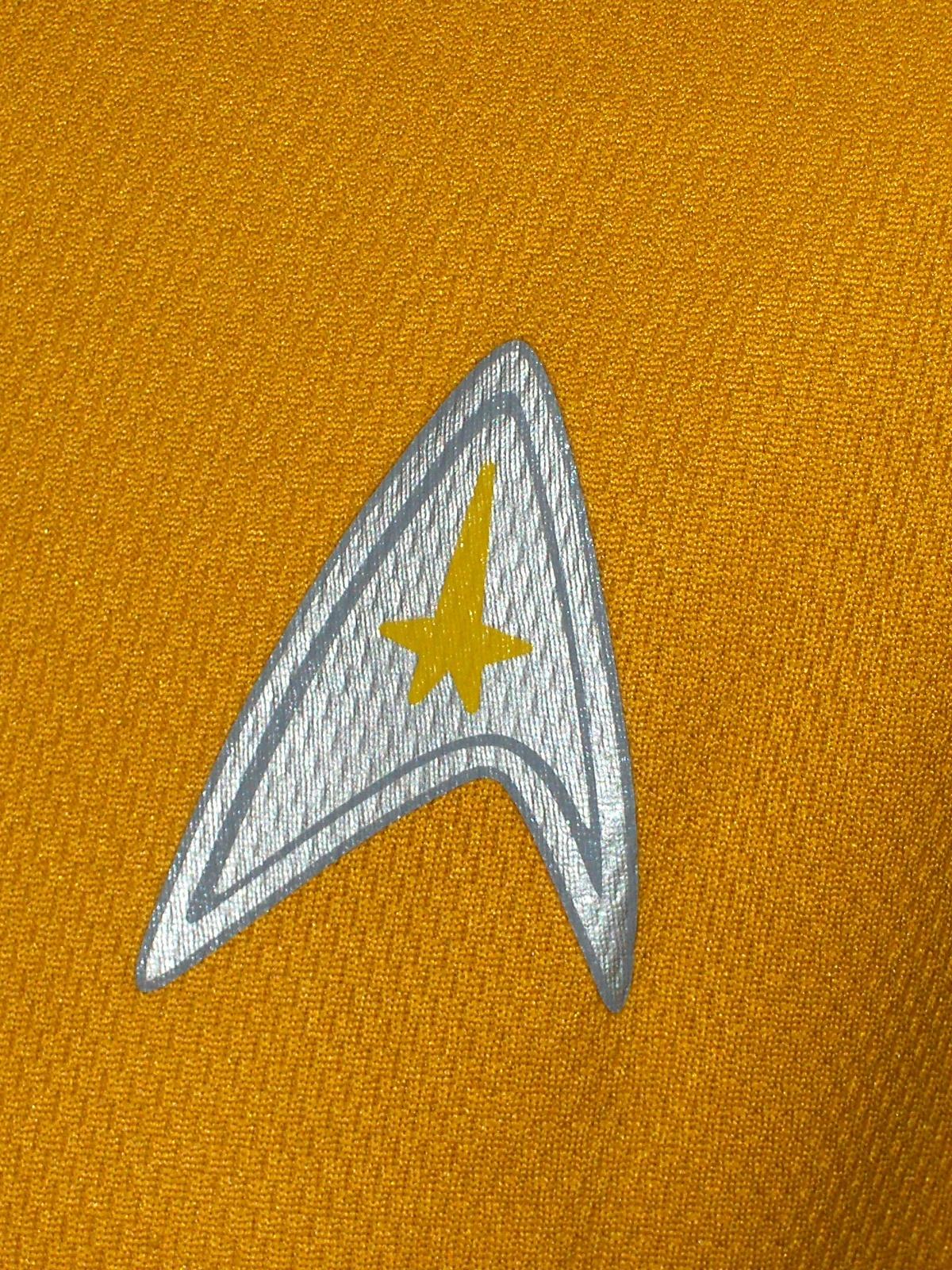 Kellogg's Star Trek Yellow T-Shirt Unisex Size Small  2009