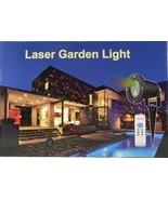 Laser Garden Waterproof Light - Star Projector For Holidays/Christmas - $54.14