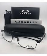 New OAKLEY Eyeglasses STEEL PLATE OX3222-0154 54-18 141 Powder Coal Frames - $199.95