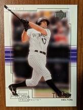 Todd Helton Colorado Rockies 2001 Upper Deck Pros & Prospects #89 - Lot #1 - $1.97