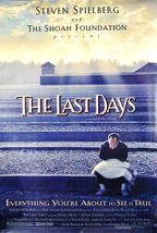 """1998 THE LAST DAYS Movie POSTER 27x40"""" Motion Picture Promo Steven Spiel... - $19.99"""