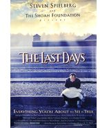"""1998 THE LAST DAYS Movie POSTER 27x40"""" Motion Picture Promo Steven Spiel... - $29.99"""