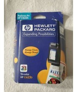 HP 23 Tri-Color HP C1823D Ink Cartridge New Sealed EXP  Never Opened - $6.92
