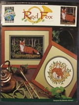 RED FOX Counted Cross Stitch Pattern Leaflet True Colors Wildlife Nature  - $5.50